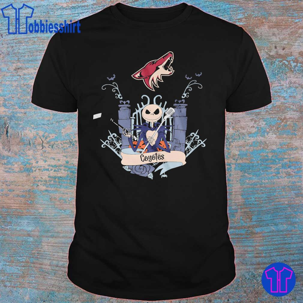 Arizona Coyotes Jack Skellington Halloween shirt