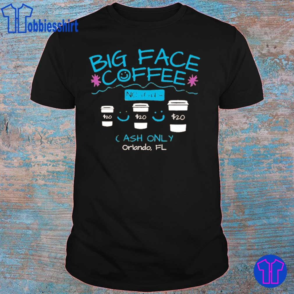 Big Face Coffee Miami Basketball shirt, hoodie, sweater ...
