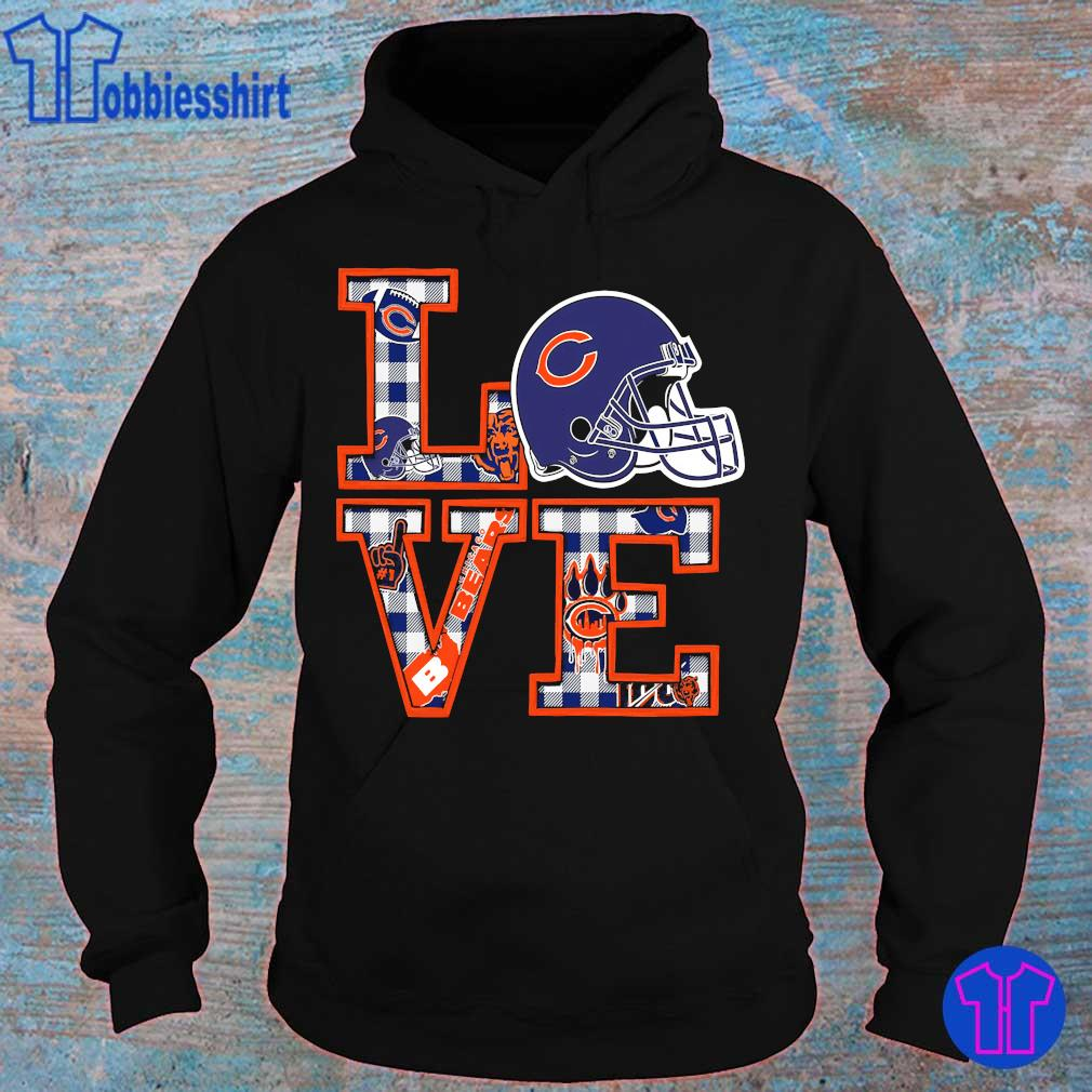 Chicago Bears Love s hoodie