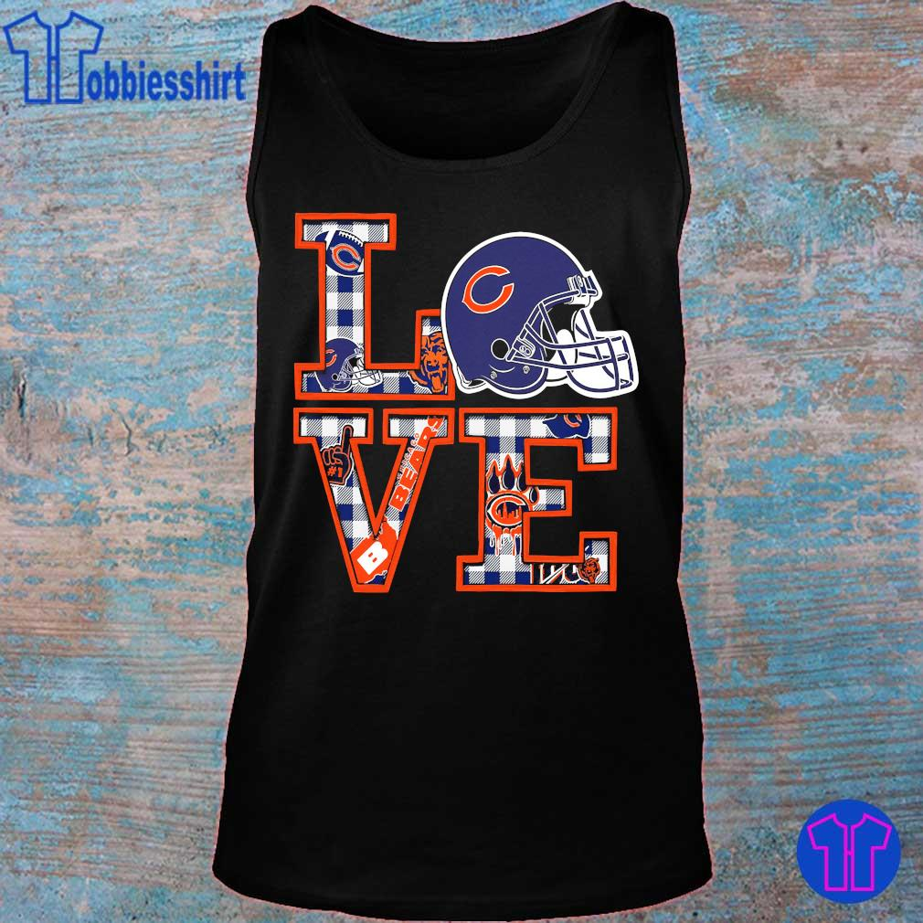 Chicago Bears Love s tank top