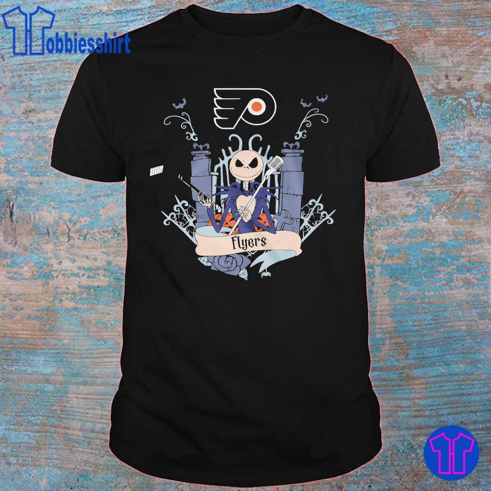 Flyers Jack Skellington Halloween shirt