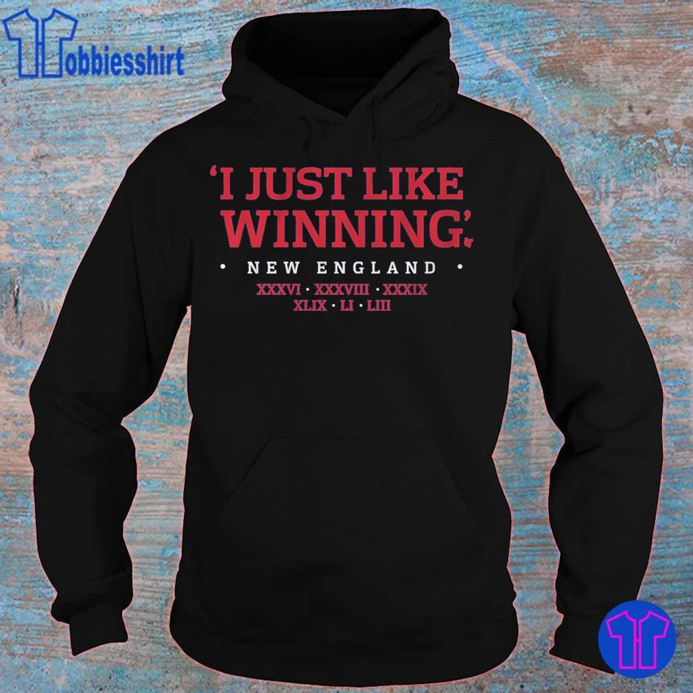 I JUST LIKE WINNING TITLES s hoodie