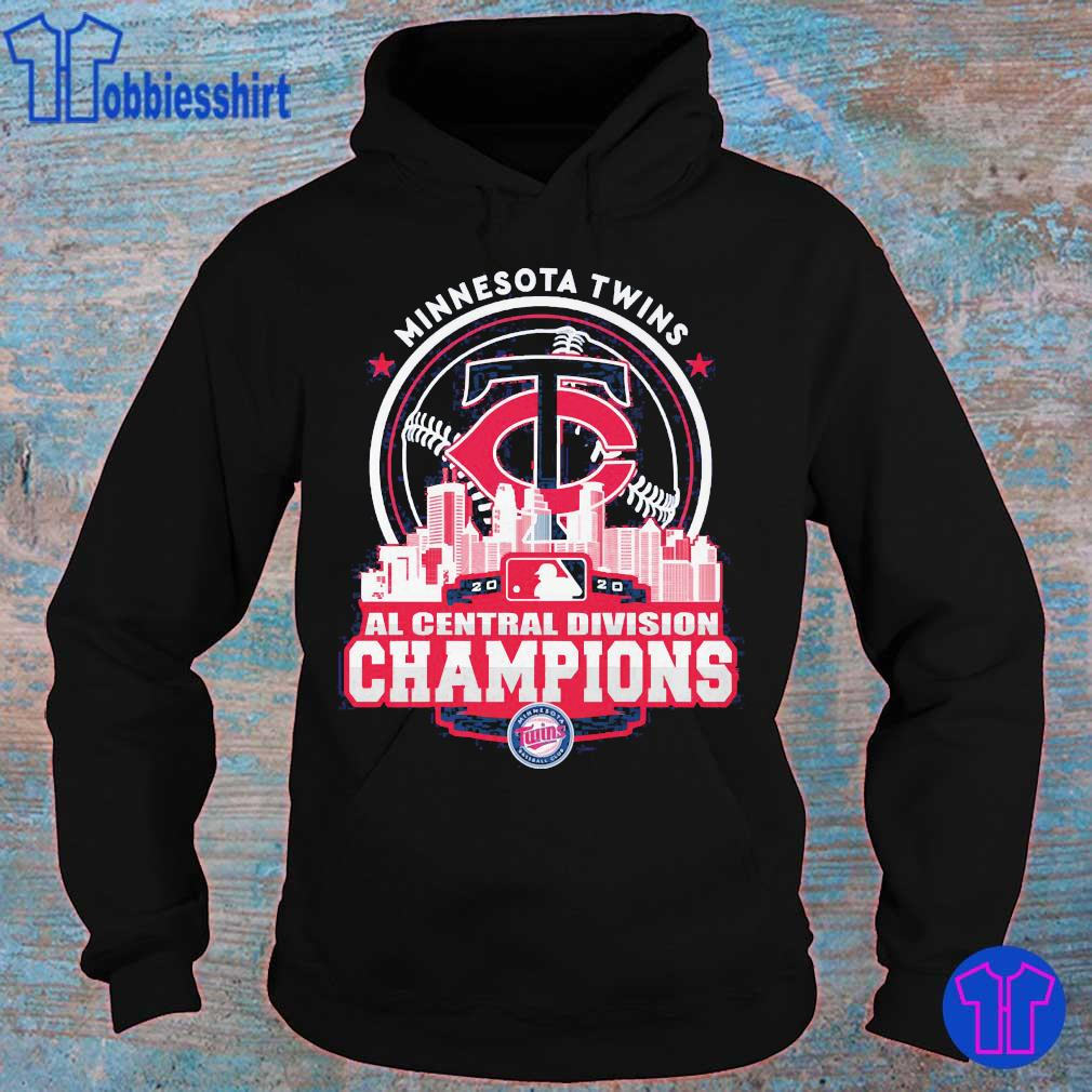 Minnesota Twins AL central division Champions s hoodie