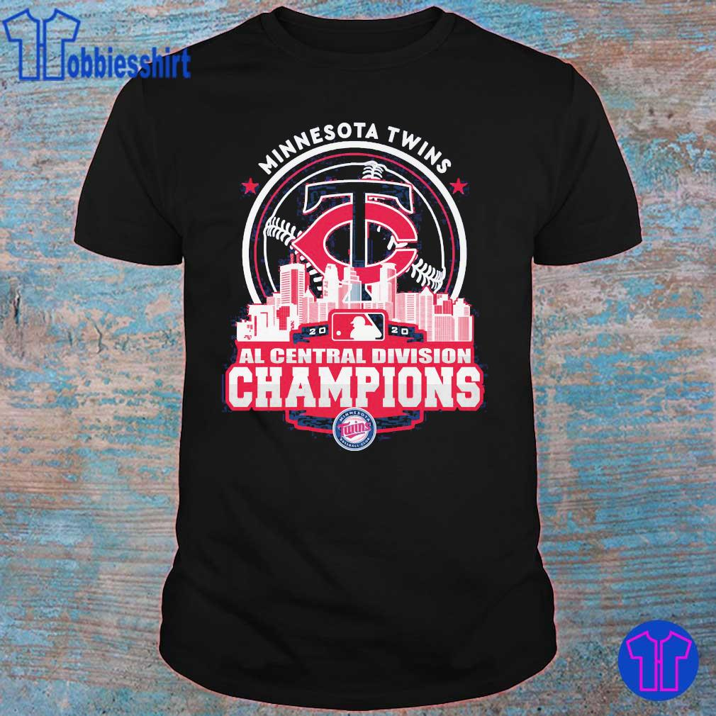 Minnesota Twins AL central division Champions shirt
