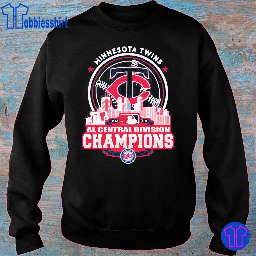 Minnesota Twins AL central division Champions s sweater