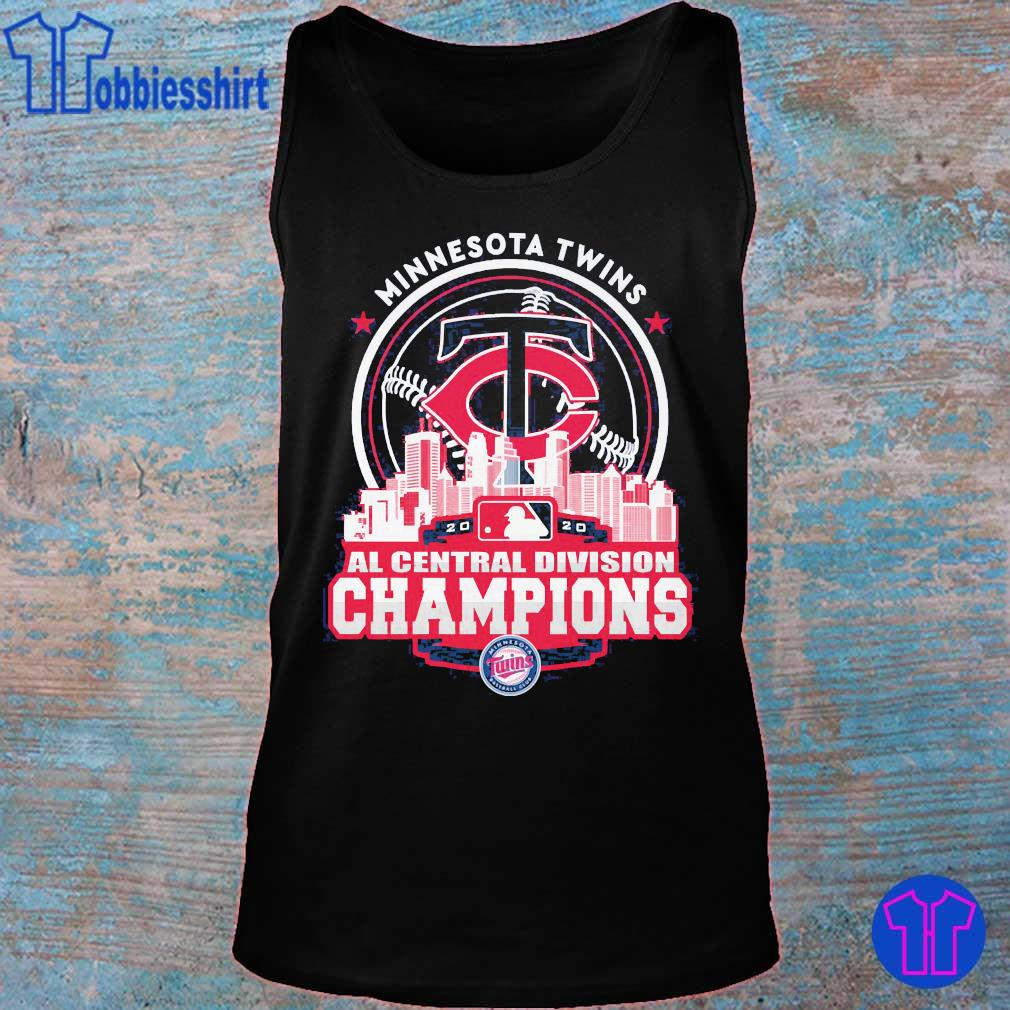 Minnesota Twins AL central division Champions s tank top