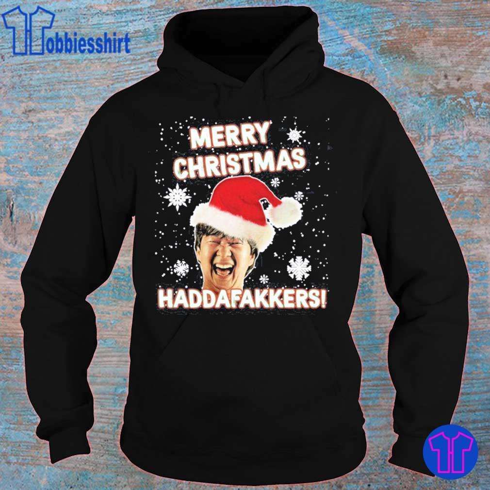 Mr Chow Merry Christmas Maddafakkers Shirt hoodie