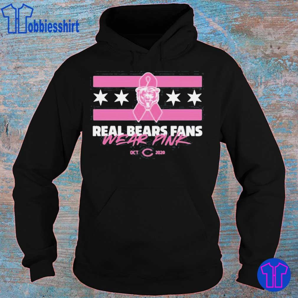 Real Bears Fans Wear Pink Shirt hoodie