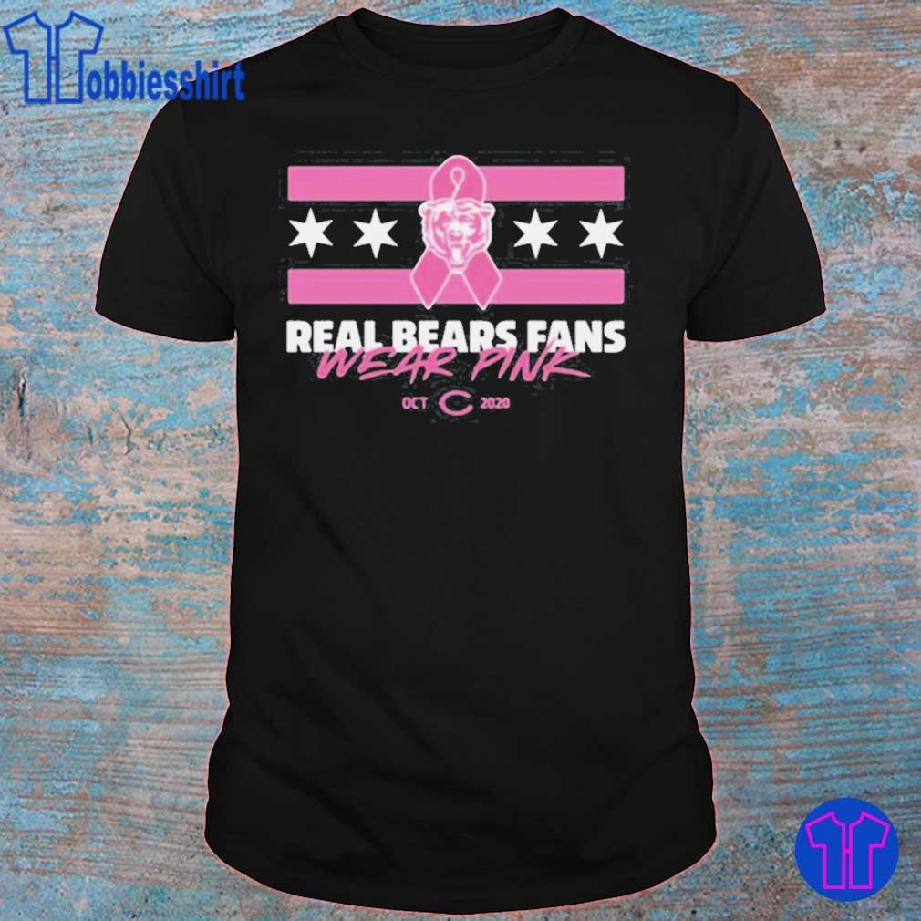 Real Bears Fans Wear Pink Shirt