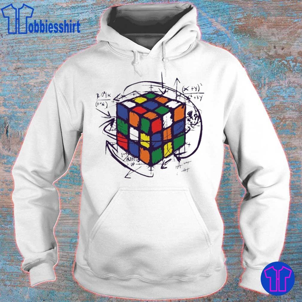 Rubik Cube Print Shirts hoodie