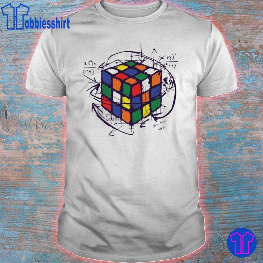 Rubik Cube Print Shirts
