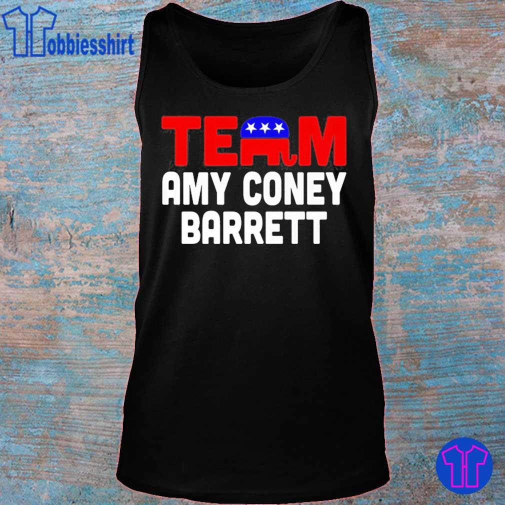 Team Amy Coney For Scotus 2020 Amy Barrett Fill That Seat Shirt tank top