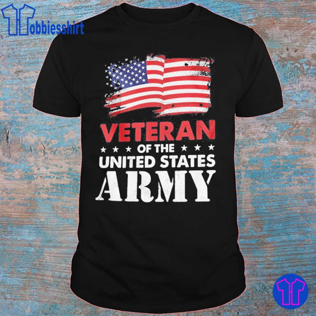 Veteran Of The United States Army Flag US Shirt