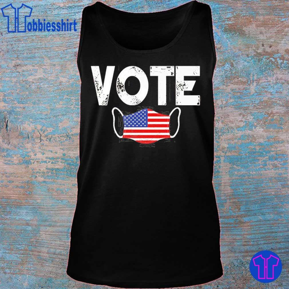 Vote Election Retro Vintage Anti Trump 2020 Election Shirt tank top