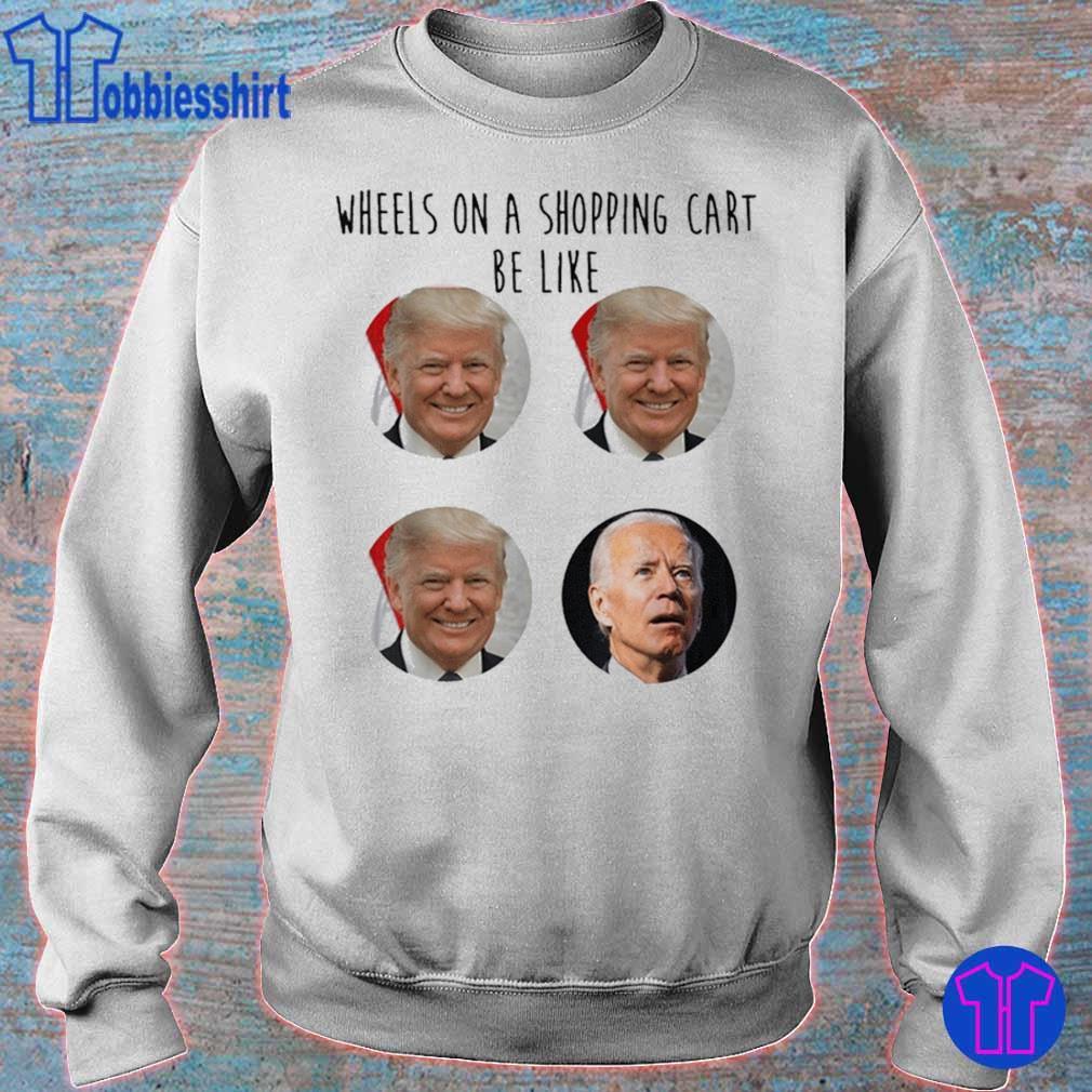 Wheels shopping cart trump Biden election meme voter 2020 ...