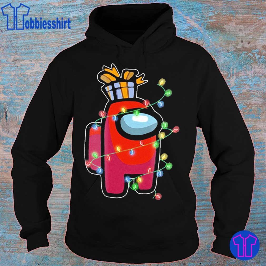 Christmas Santa Among Us Character Coffee Shirt – X-mas 2020 Gift For Men Women hoodie