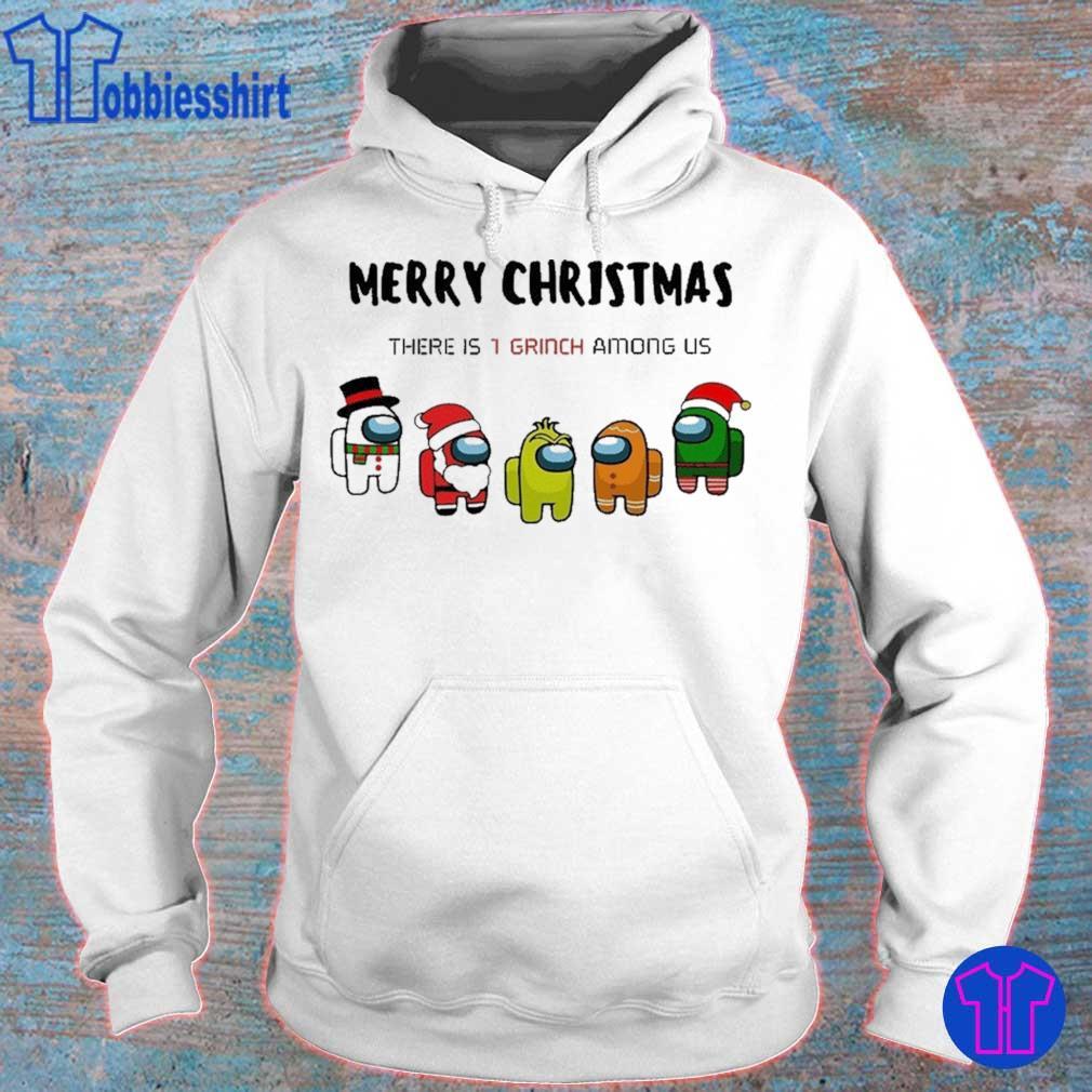 Official Among Us Character Merry Christmas 2020 Christmas Shirt hoodie