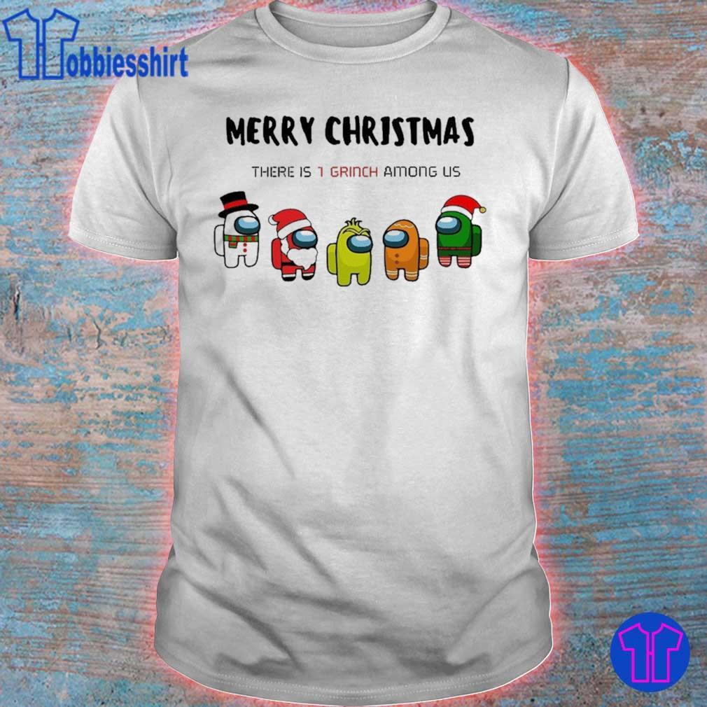 Official Among Us Character Merry Christmas 2020 Christmas Shirt