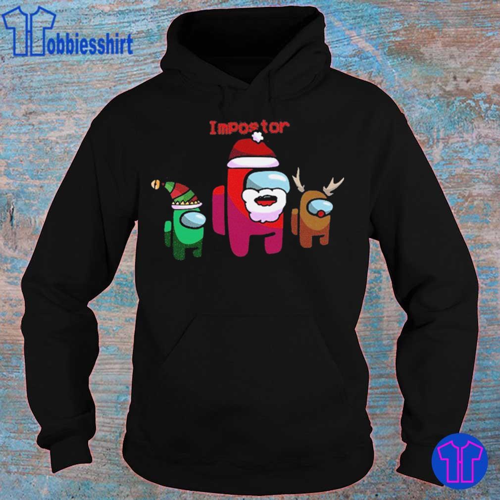 Official Among Us Christmas – Impostor Among Us Sus Santa 2020 Holiday Xmas Shirt hoodie