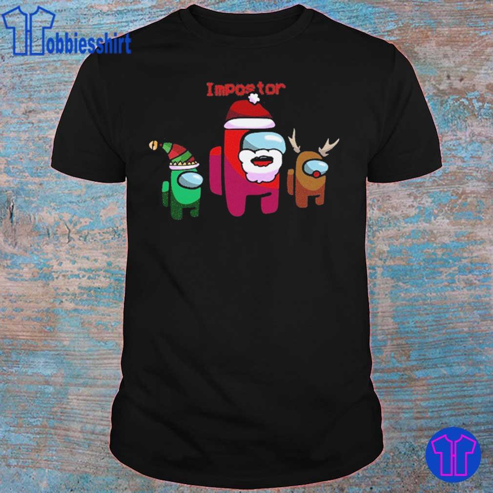 Official Among Us Christmas – Impostor Among Us Sus Santa 2020 Holiday Xmas Shirt