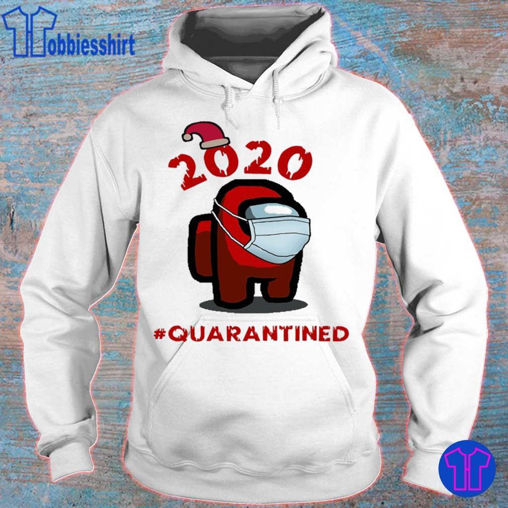 Official Among Us Christmas #Quarantined – Among Us Face Mask Shirt hoodie