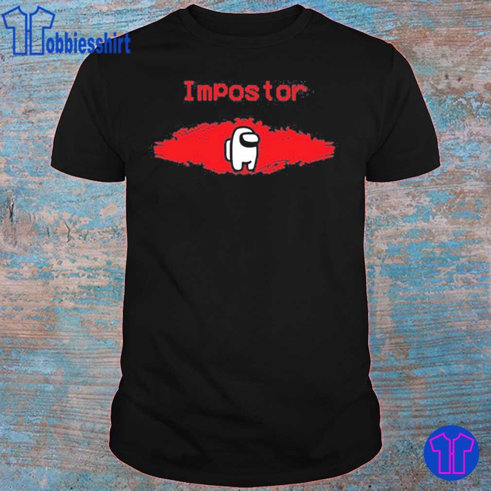 Official Among Us IMPOSTOR Gamer Shirts, Among Us Crewmate Shirt