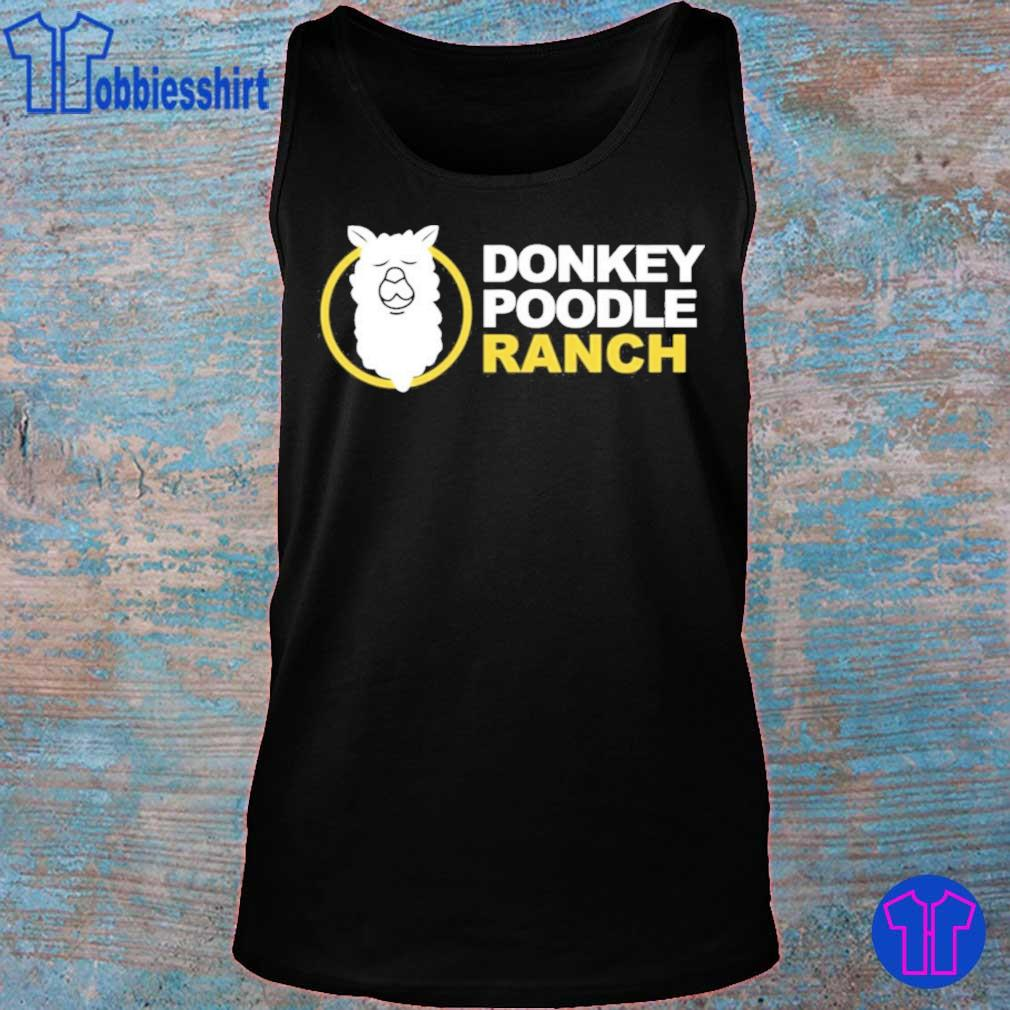 Official Arms Family Homestead Merch Donkey Poodle Ranch Shirt tank top