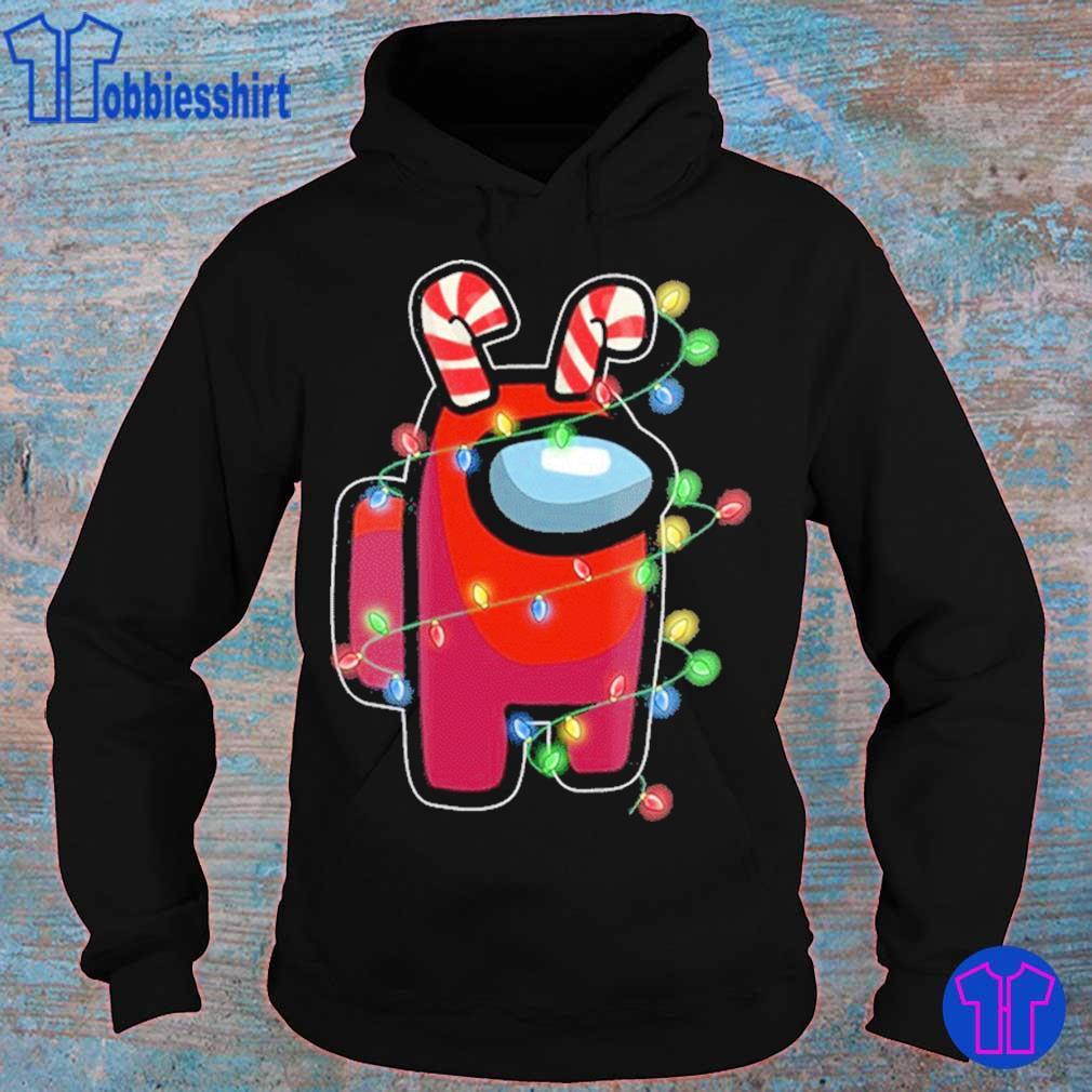 Official Christmas Santa Among Us Character X-mas 2020 Shirt hoodie