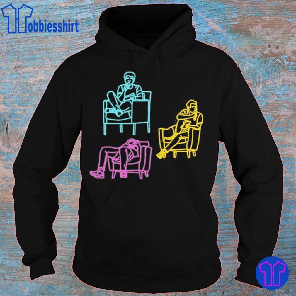 Official Crooked Media Merch Lovett Sitting Shirt hoodie