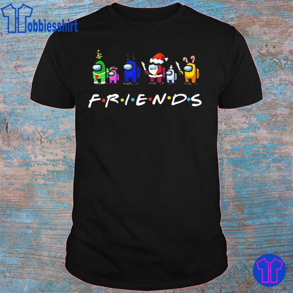Official Friends Shirt Among Us Shirt Christmas Shirt – Impostor Santa Reindeer Elf Sublimation Shirt