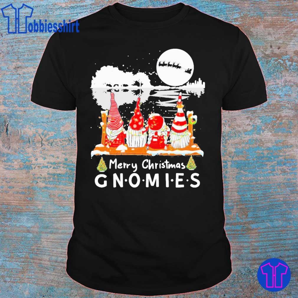 Official Guitar Merry Christmas Gnomies Shirt