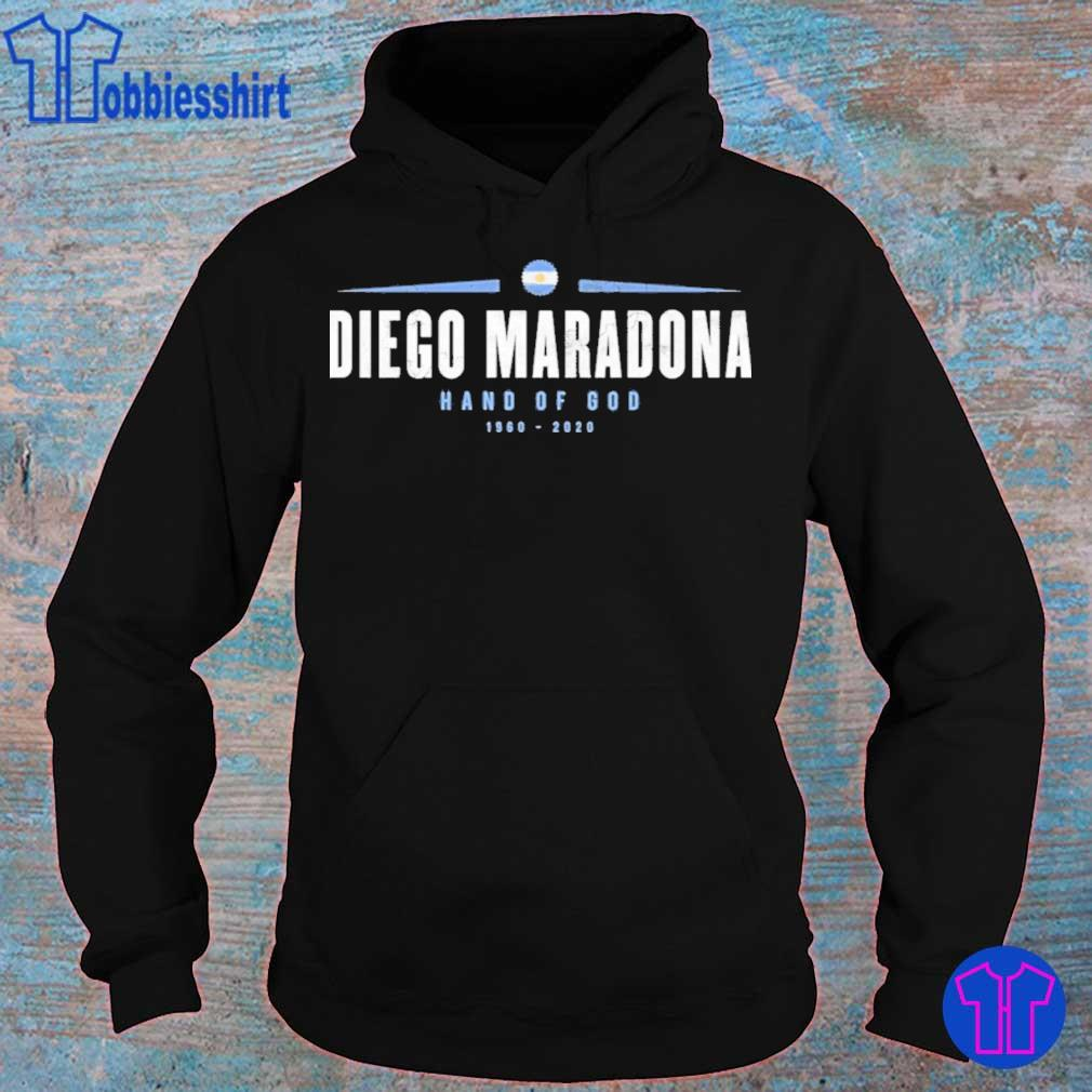 Official Rip Diego Maradona Hand Of God 1960-2020 Shirt hoodie