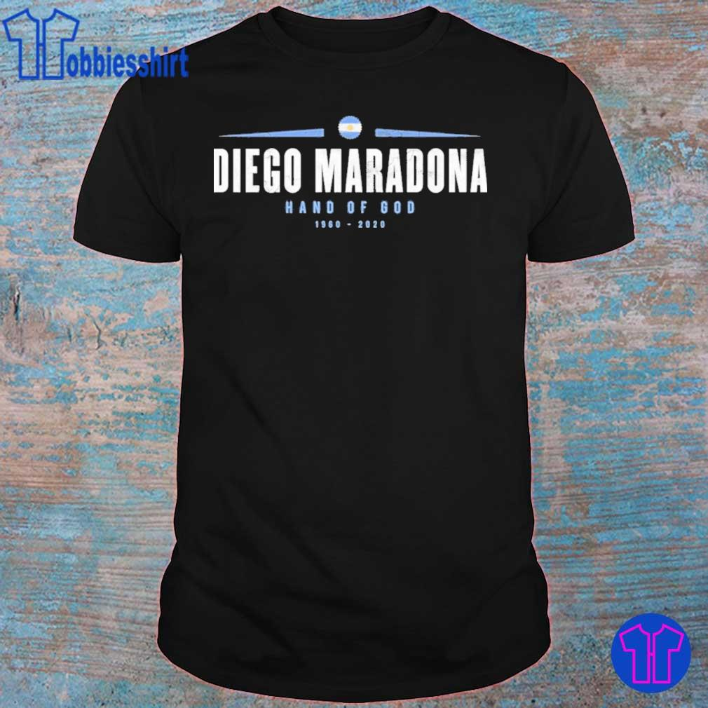 Official Rip Diego Maradona Hand Of God 1960-2020 Shirt