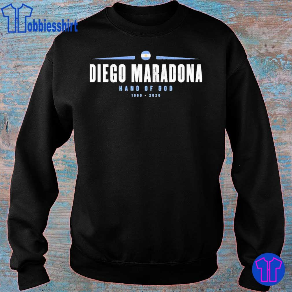 Official Rip Diego Maradona Hand Of God 1960-2020 Shirt sweater