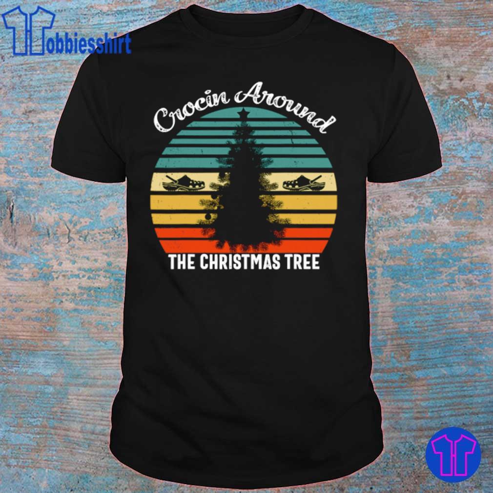 Official Crocin Around The Christmas Tree Xmas Vintage Shirt