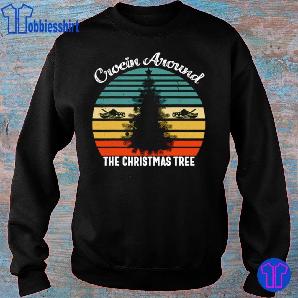 Official Crocin Around The Christmas Tree Xmas Vintage Shirt sweater